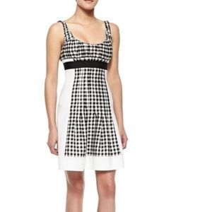 Dian Von Furstenberg Gingham Dress